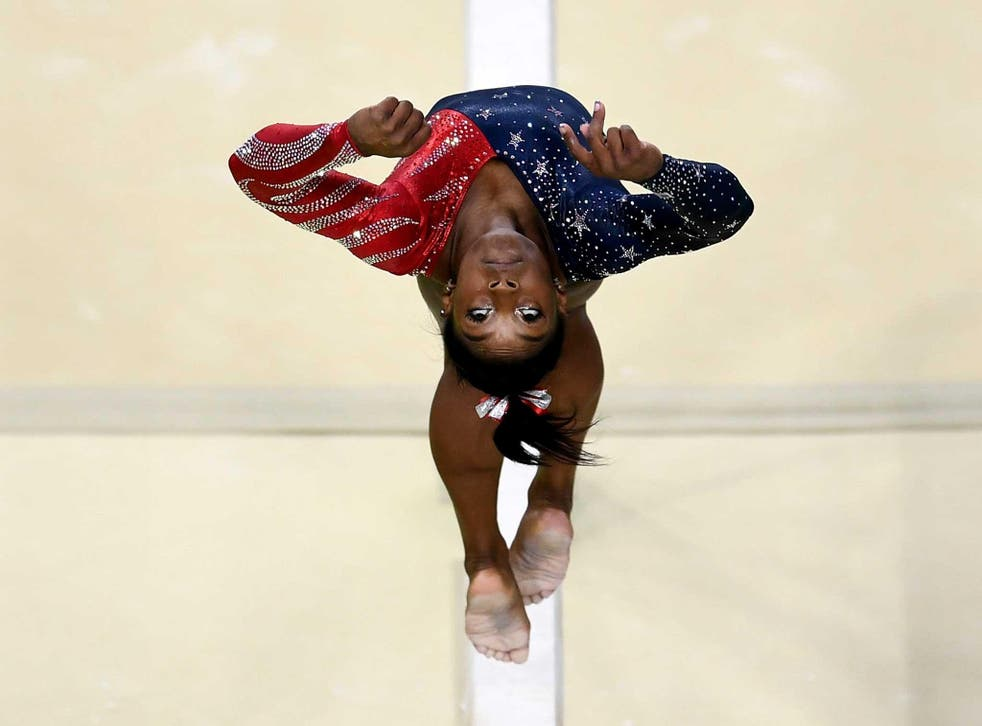 People could not get enough of Biles' reaction to him on Twitter, praising her for being so forthright and upfront