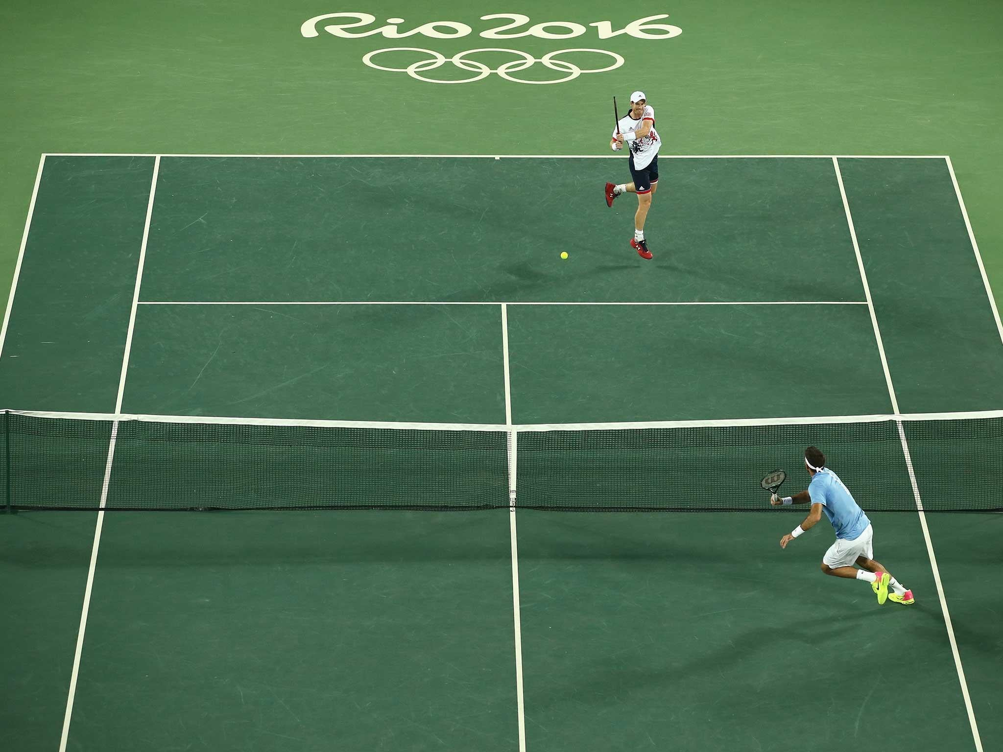 Andy Murray wins the only Team GB tennis medal in Rio