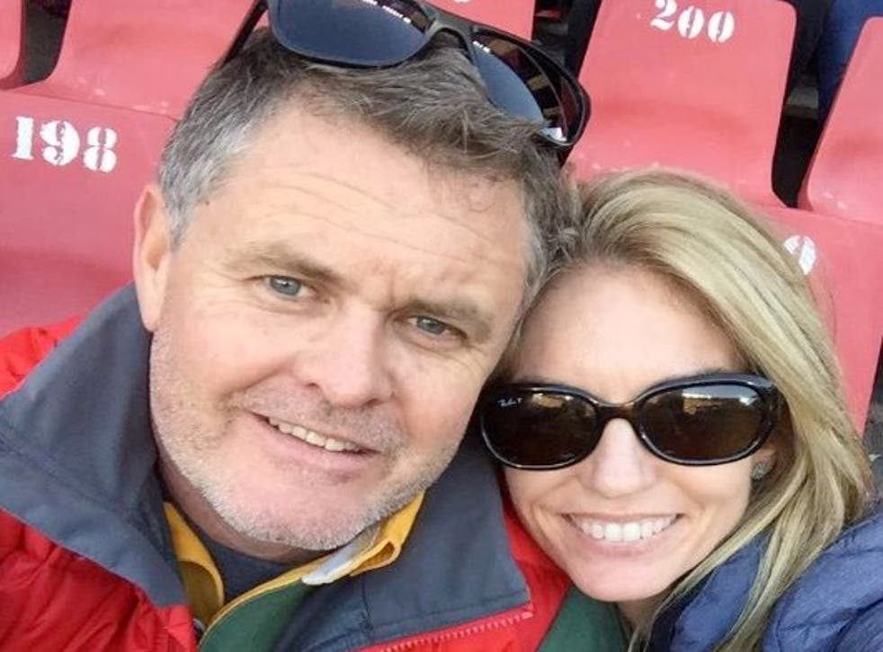 Jason Rohde and his wife Susan were attending a conference when she was found dead in the bathroom