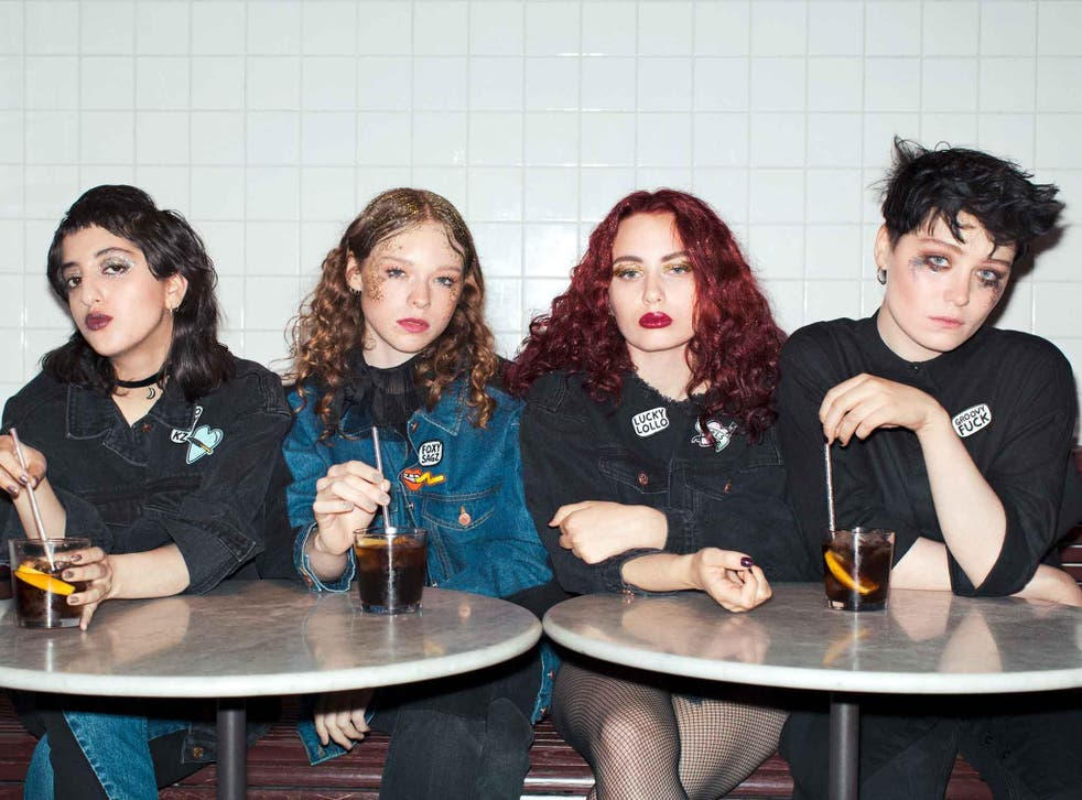 The fierce foursome recently dropped their debut album, 'The Haze is Forever'