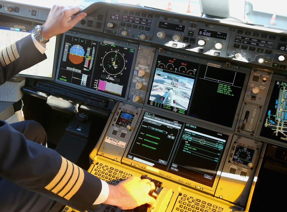 The pilot had three times the legal amount of alcohol in his system