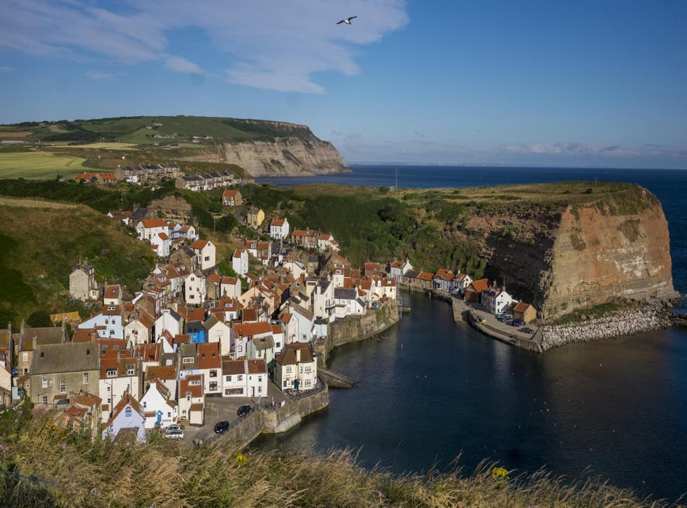 A new walking route as part of the England Coast Path project gives walkers access to the headland at Staithes