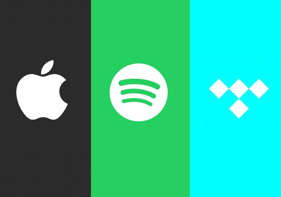 The whole Apple Music, Tidal, Spotify etc streaming