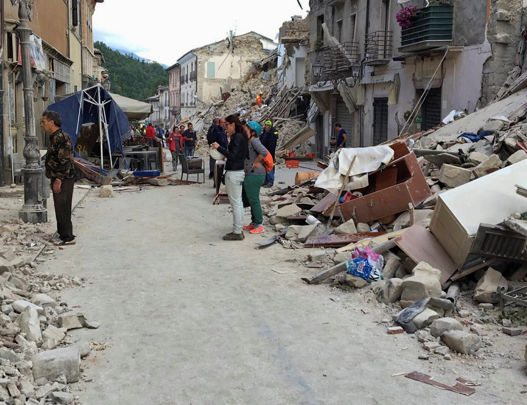 Italy earthquake: Extraordinary stories of survival emerge