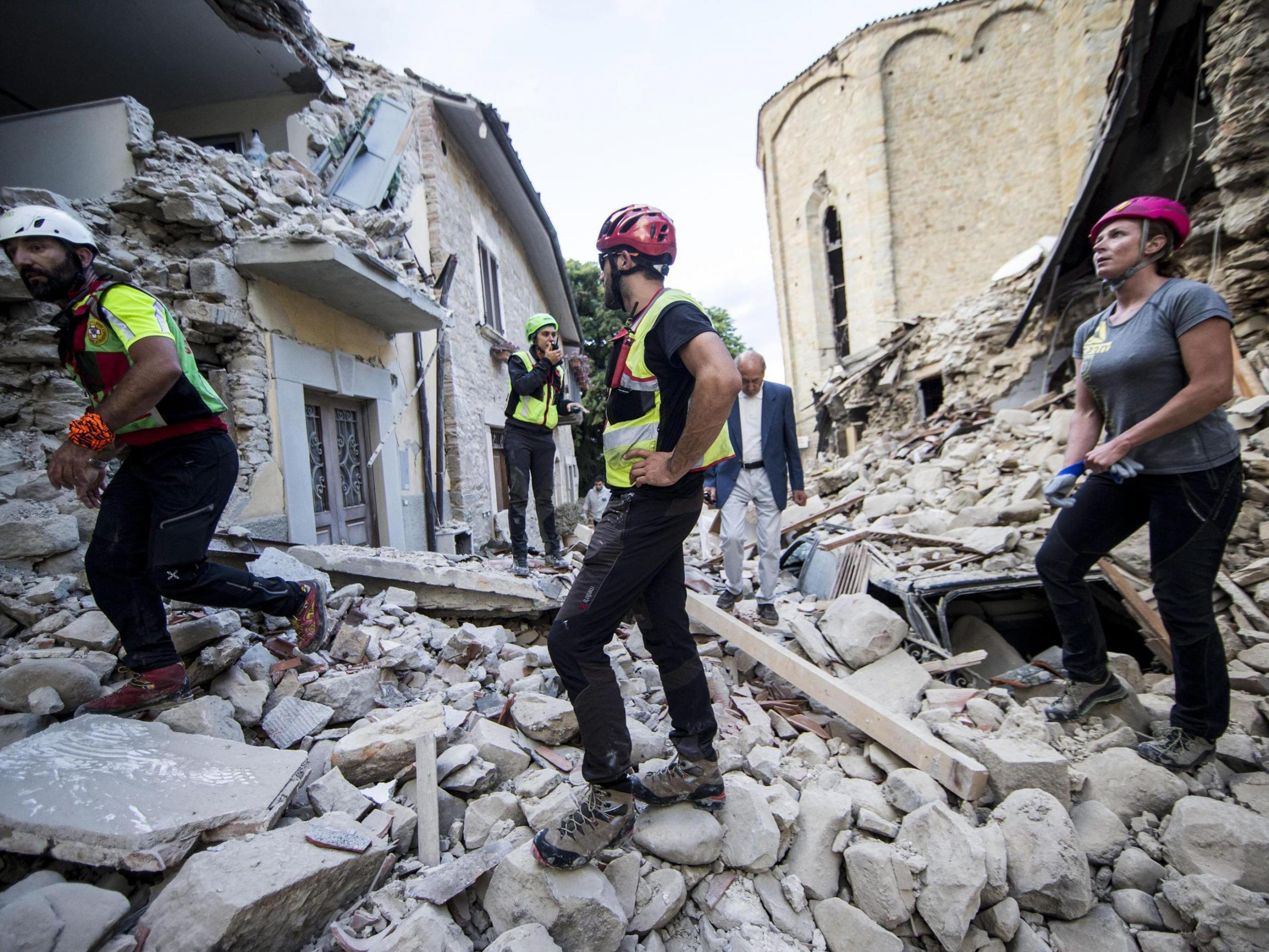 Italy earthquake 2016: Amatrice one month on from ... |Italian Earthquake