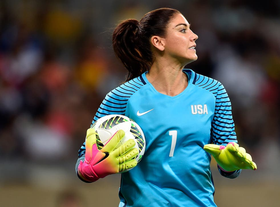 Hope Solo have been banned from the United States women's team for six months