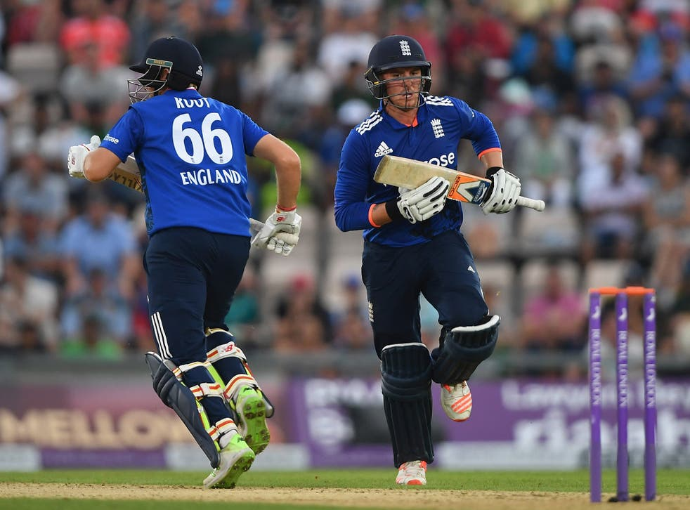 Roy has top-scored for England in the ODIs