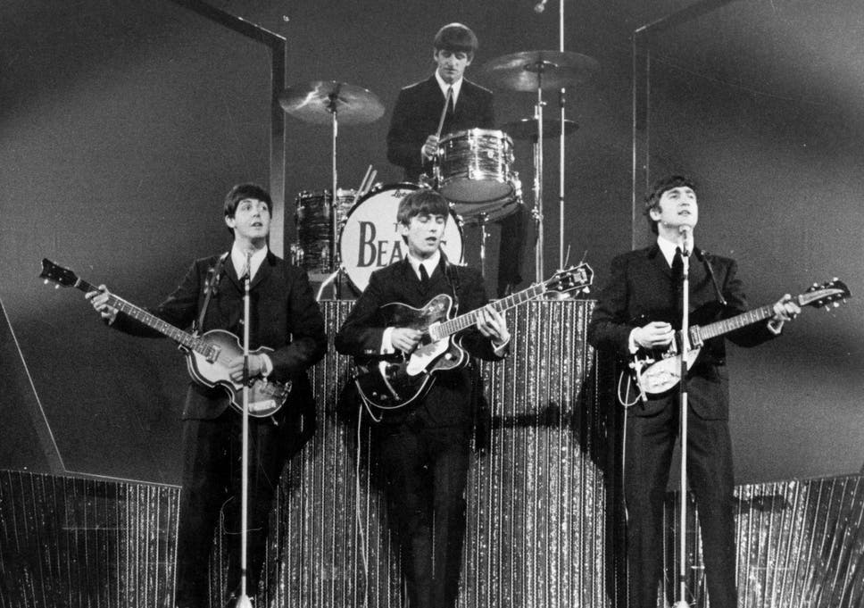 Image result for paul mccartney with the beatles