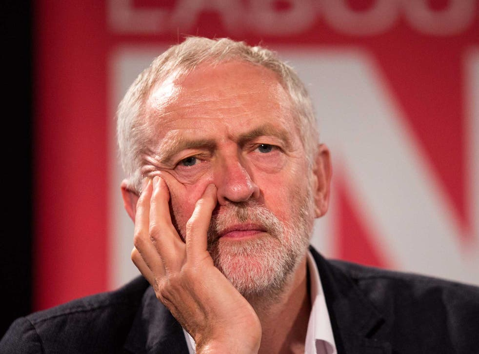 Jeremy Corbyn has faced a hostile reception from the press