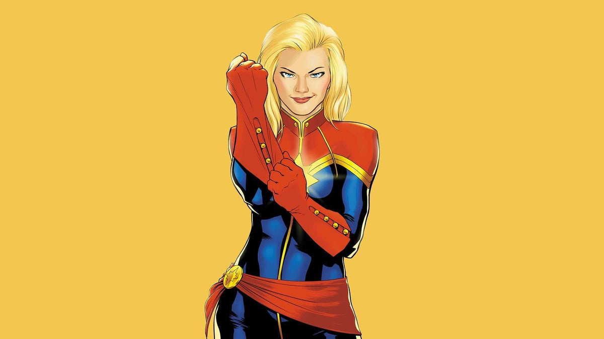 Captain Marvel First photo of Brie Larson in costume debuts ...