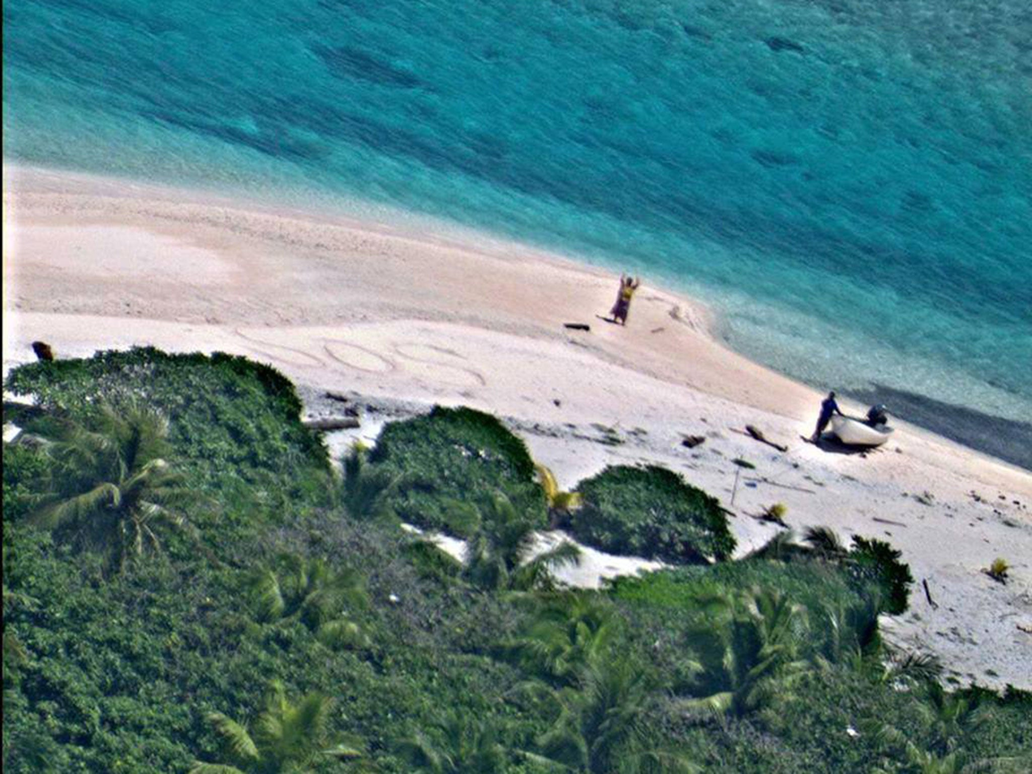 Woman trapped on deserted island for 40 years