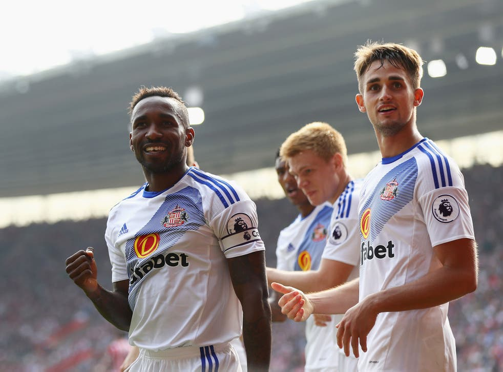 Jermain Defore put Sunderland ahead from the penalty spot