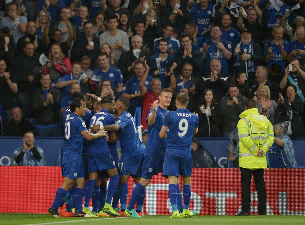 Leicester could be the first team since Malaga to win the group during their first Champions League season