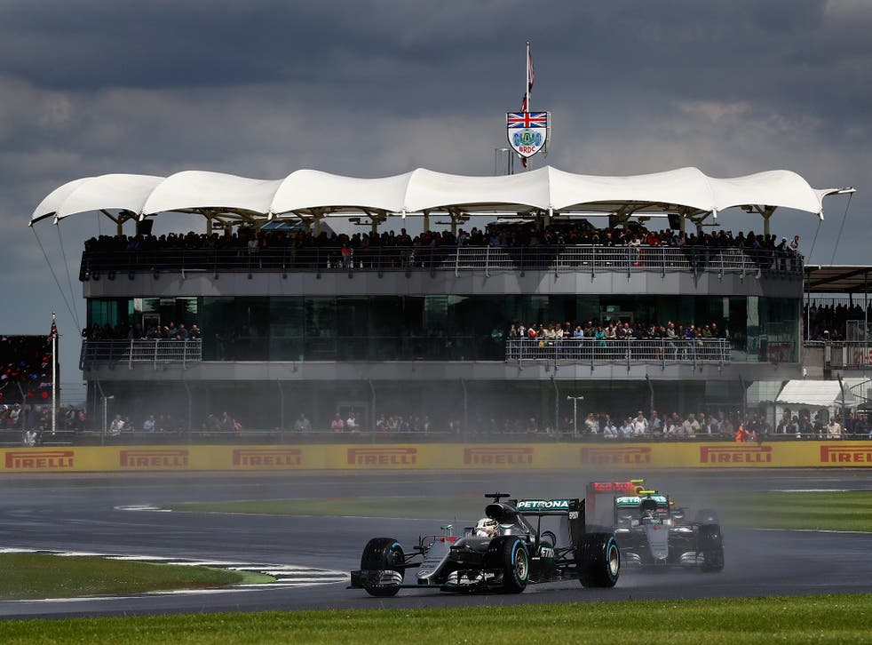 Silverstone, the home of British racing