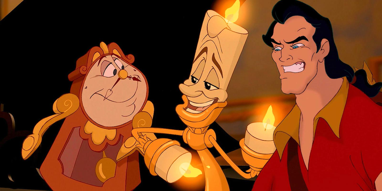 Beauty and the Beast: First look at Lumière And Cogsworth in live-action remake