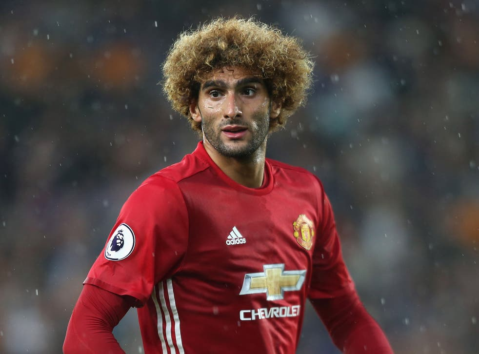Fellaini has divided opinion among the supporters since arriving in 2013