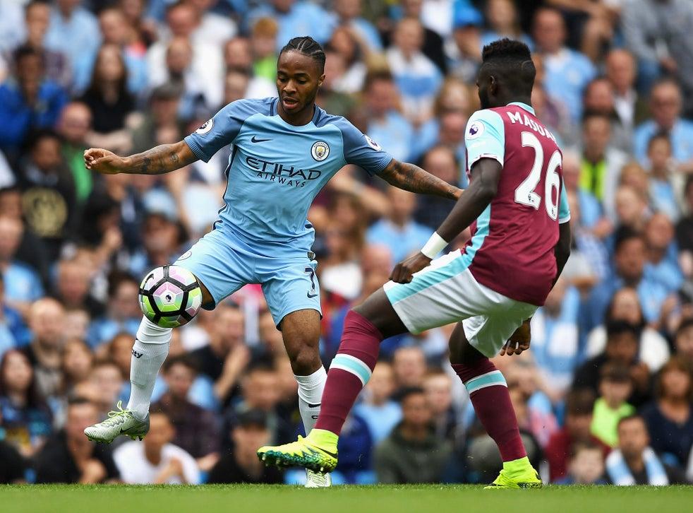Manchester City vs West Ham as it happened: Raheem ...