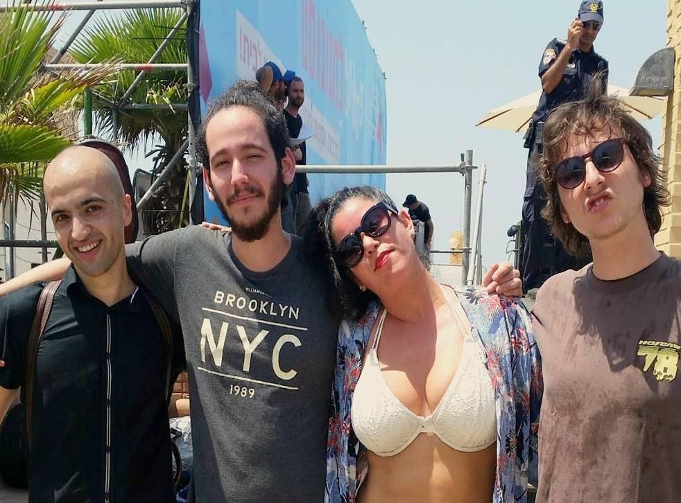 Israeli singer Hanna Goor claims her performance was cut short because she wore shorts and a bikini top