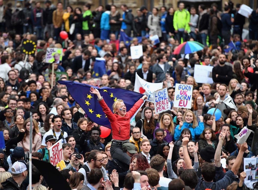 A series of protests have taken place since the EU referendum