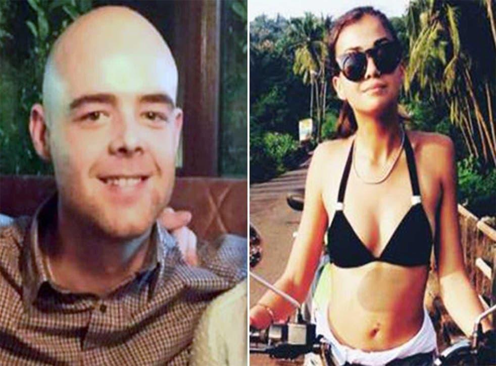 Tom Jackson and Mia Ayliffe-Chung, both killed in Australia last week