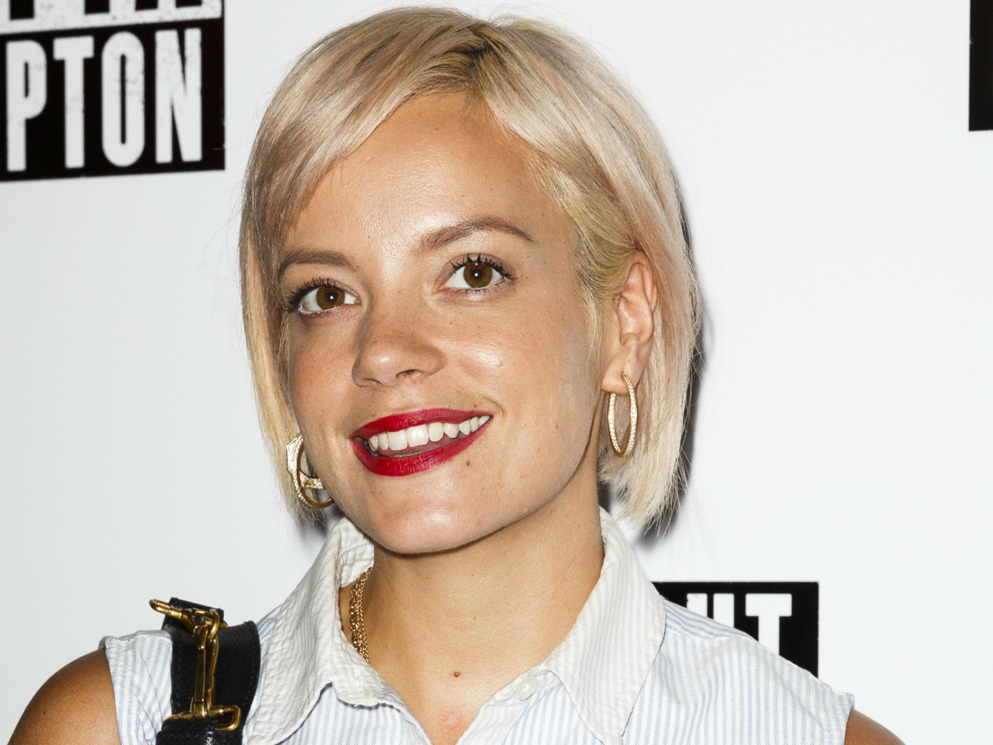 David Davies criticises 'naive' emotional response from Lily Allen to ... Lily Allen