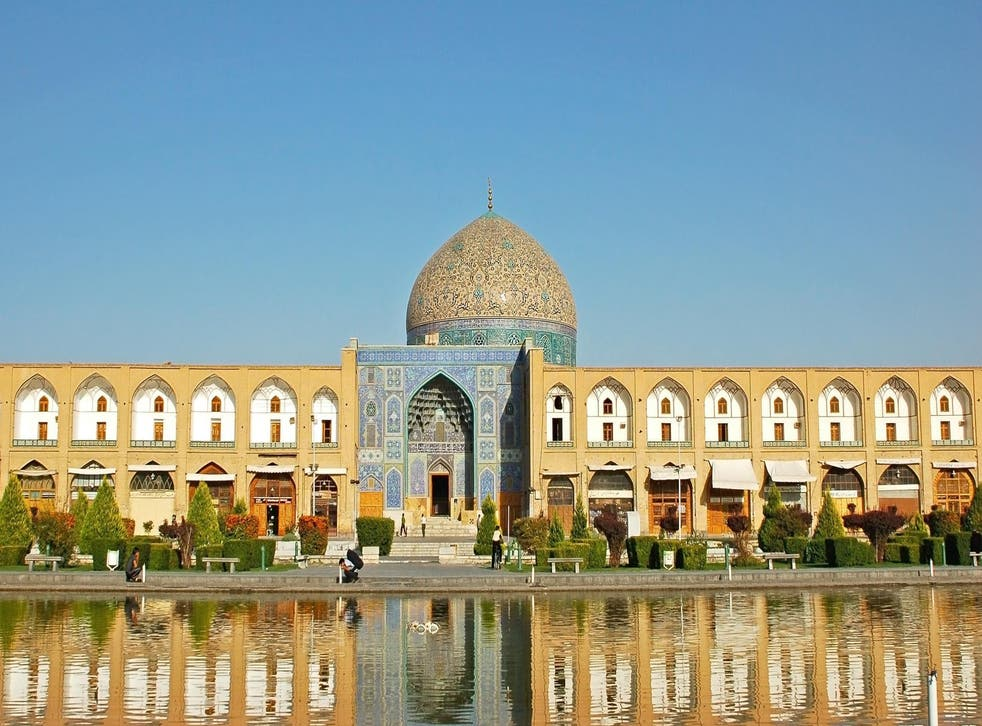 Isfahan is a major destination on the tourist trail in Iran