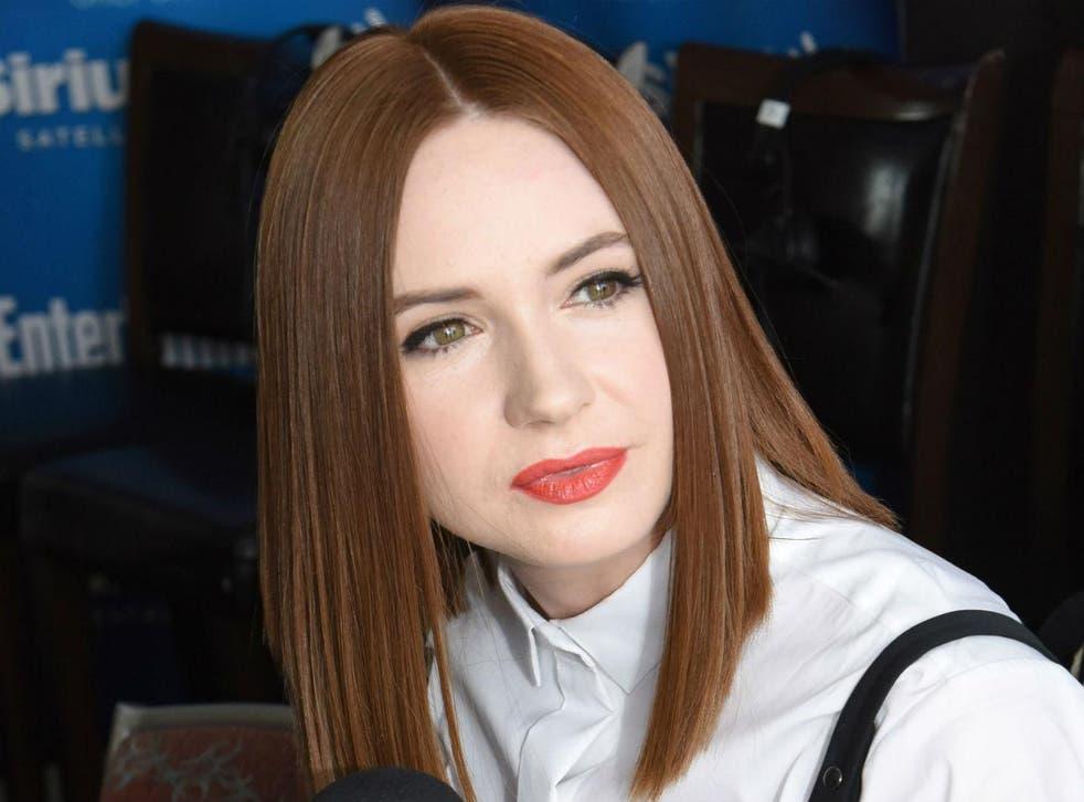 Karen Gillan plays Ruby Roundhouse in the upcoming Jumanji sequel