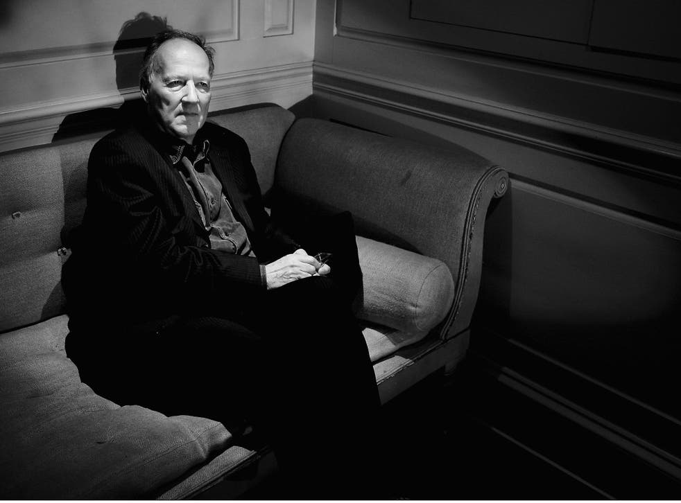 Herzog does not have a smartphone and is not an avid internet user