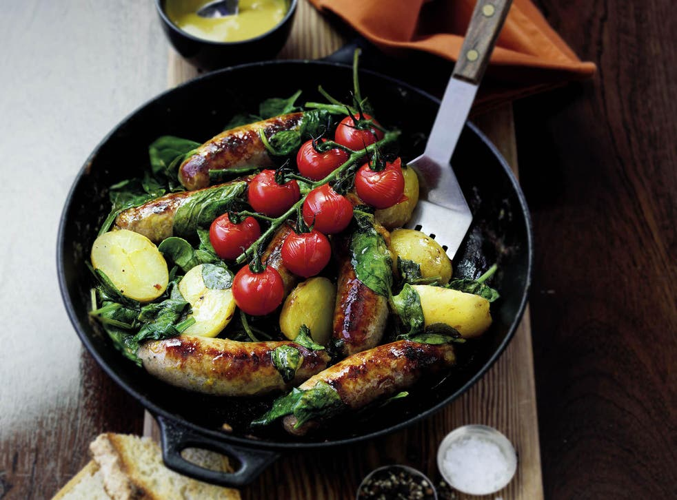 This sausage-based dish can be cooked in a single pan
