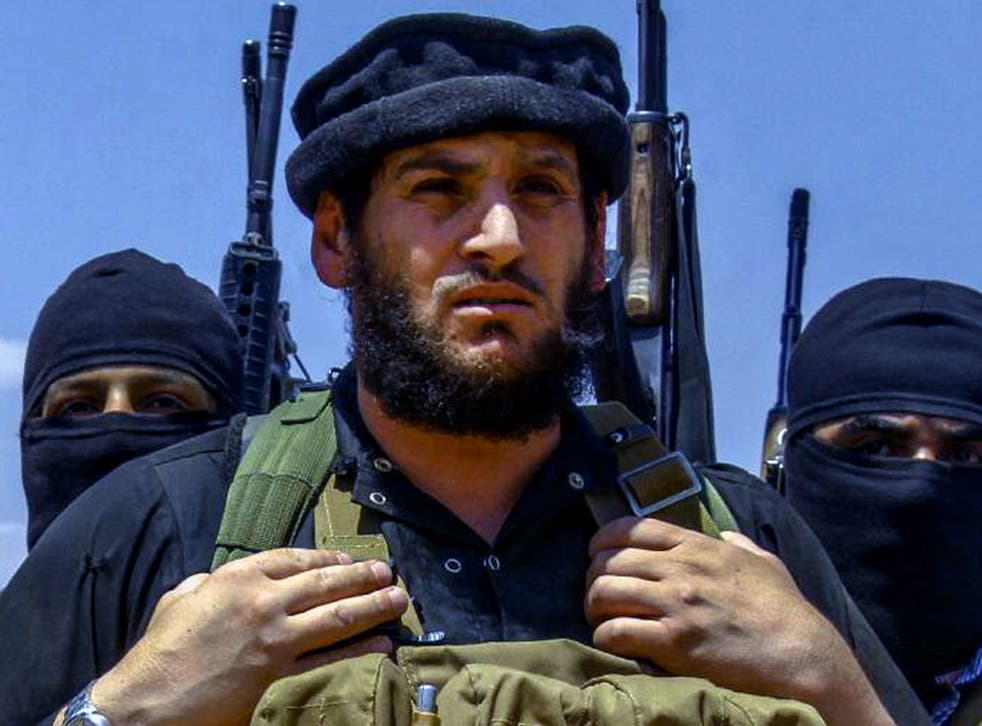 An undated image of Abu Muhammad al-Adnani posted online by Isis supporters on 31 August