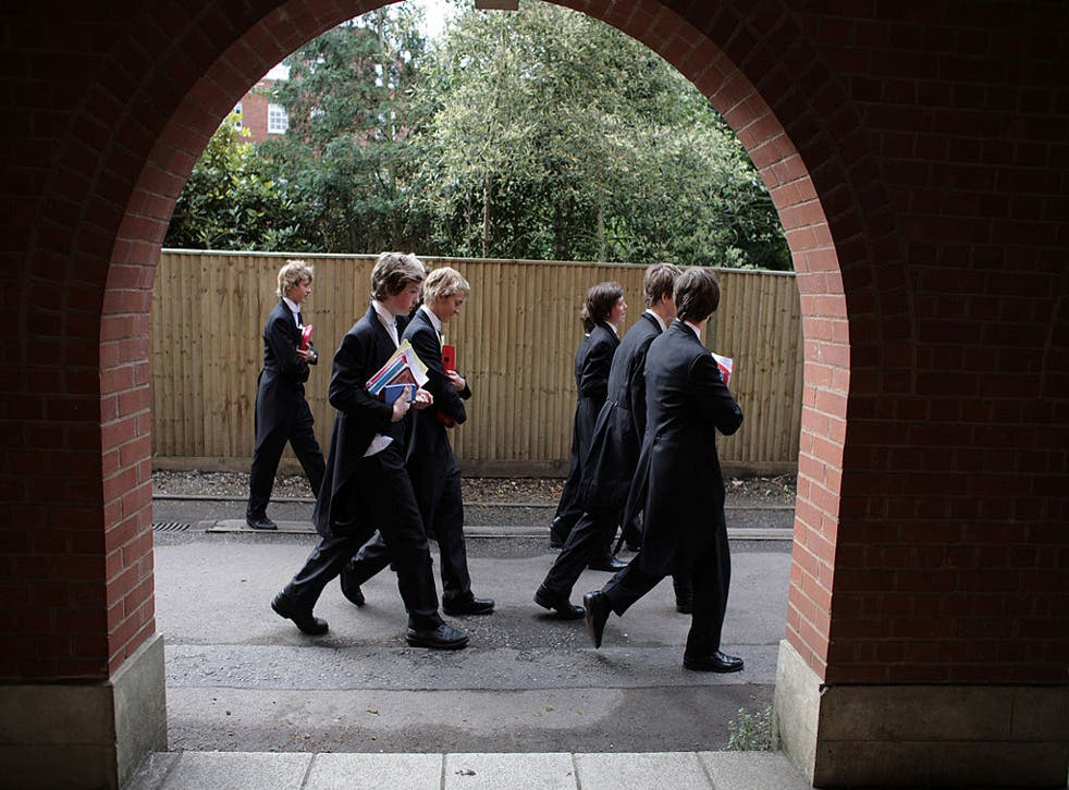 Fee-paying schools such as Eton College are expected to provide a number of scholarships and provide charitable support to the state sector
