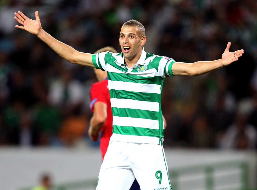 Islam Slimani is the most expensive player in Leicester's history