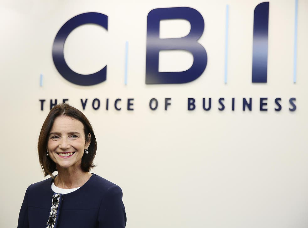 CBI head Carolyn Fairbairn urged the Government to invest in infrastructure and research and development in a letter to Chancellor Philip Hammond