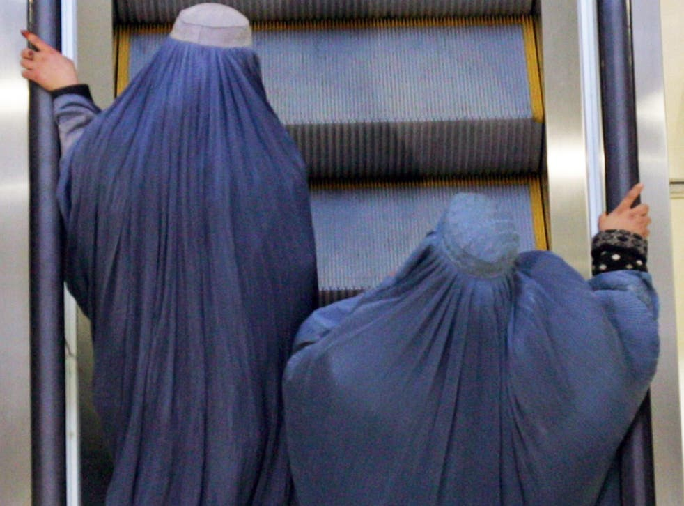 Abhishek Yadav was beaten by the crowd after it was revealed he allegedly wore a burqa to attack women (file photo)