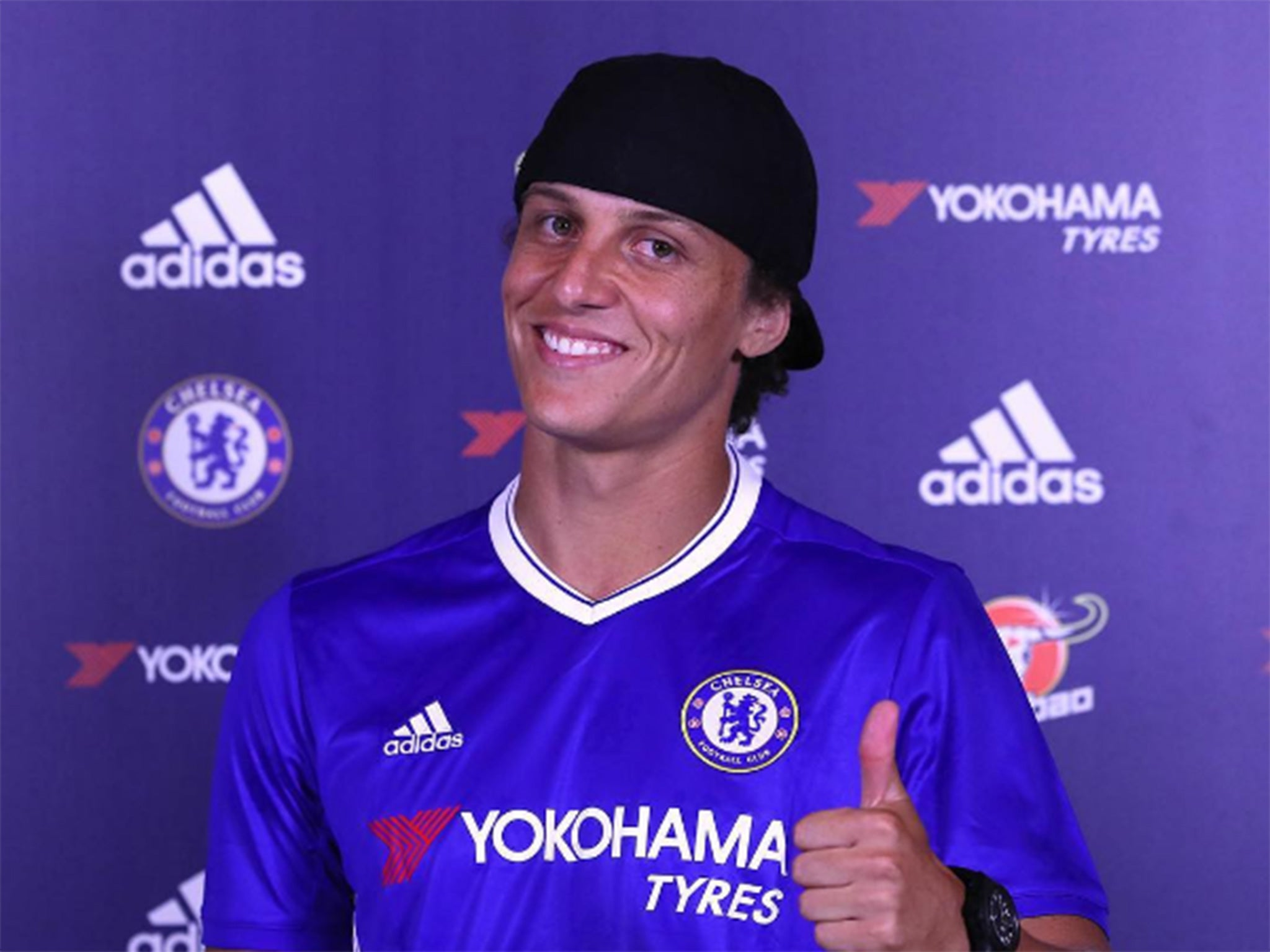 David Luiz Chelsea re sign defender from PSG on three year