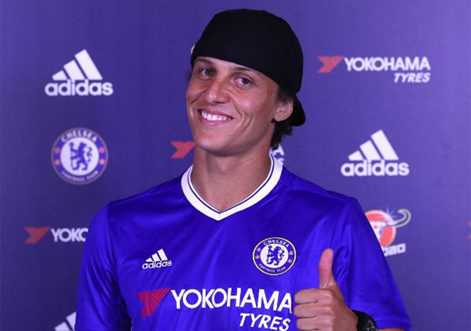 new arrival 9ae05 686ad David Luiz: Chelsea re-sign defender from PSG on three-year ...