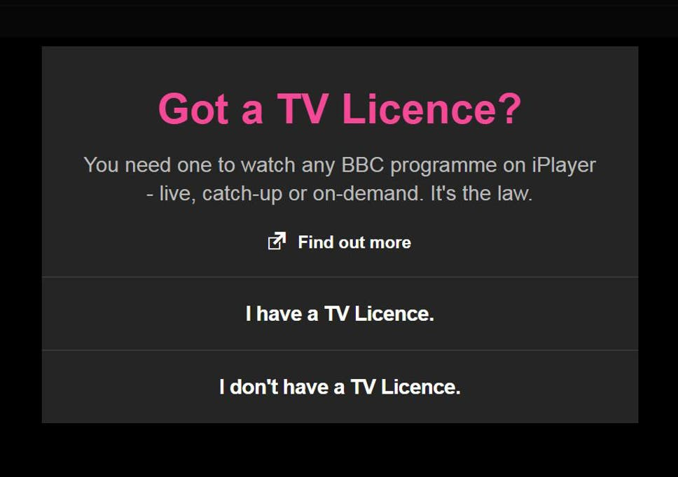 New TV licence fee guidelines: How to watch television legally