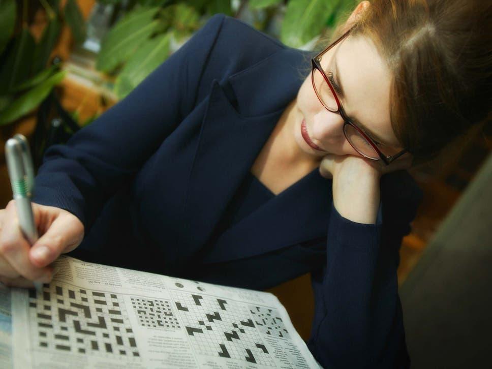 people-solving-crosswords