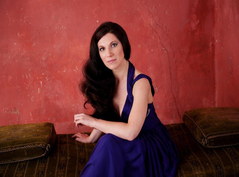 Mezzo-soprano Elisabeth Kulman sang in Prom 57
