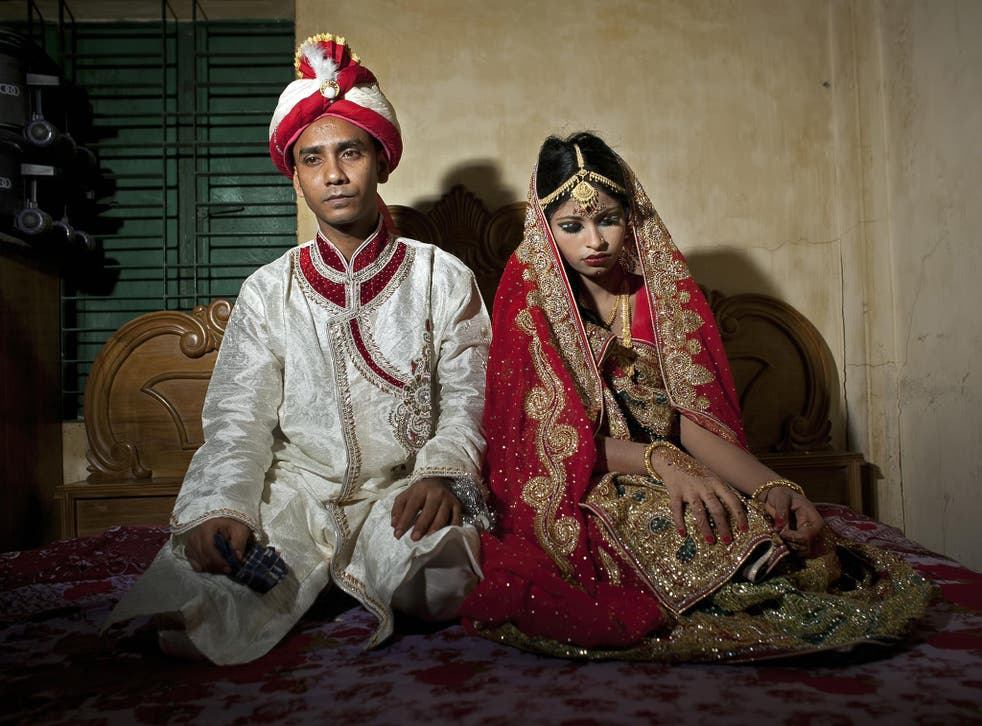A girl of 15 is married to a 32-year-old man