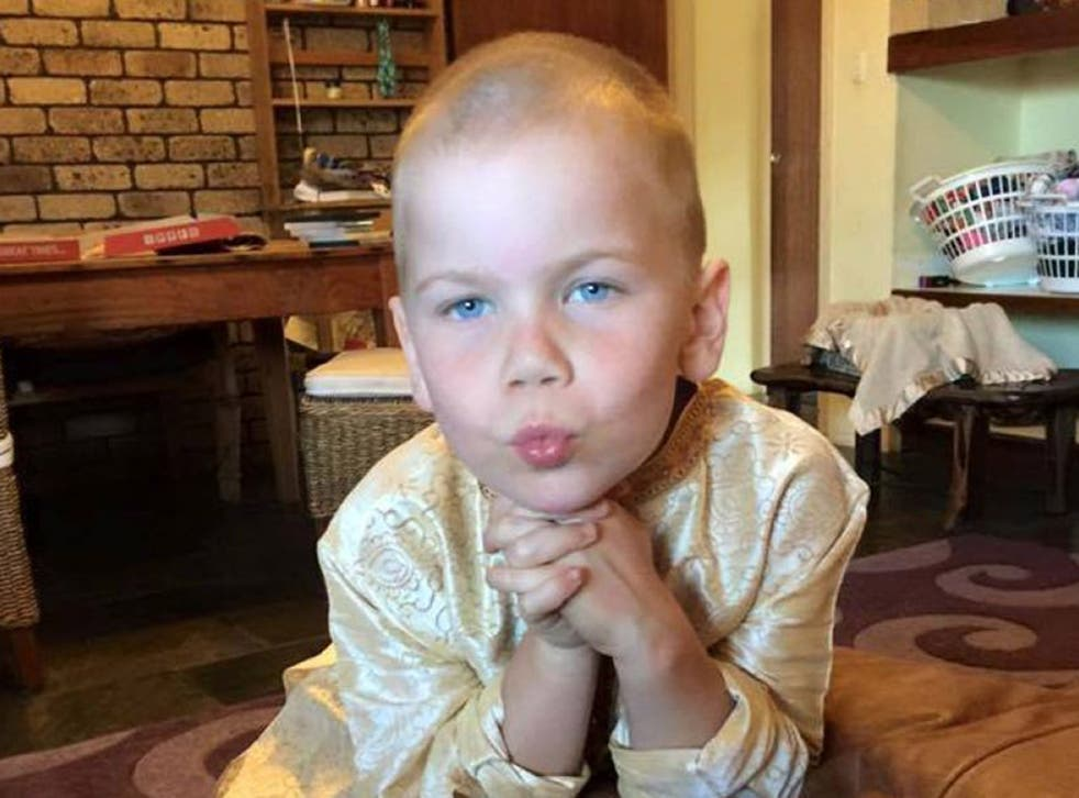 Oshin Kizsko was diagnosed with medulloblastoma last December and underwent surgery for it