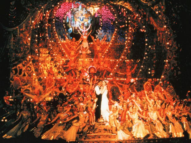 Ewan McGregor and Nicole Kidman in Baz Luhrmann's 2001 movie musical Moulin Rouge!