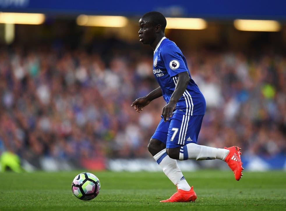 N'Golo Kante has impressed at Chelsea so far