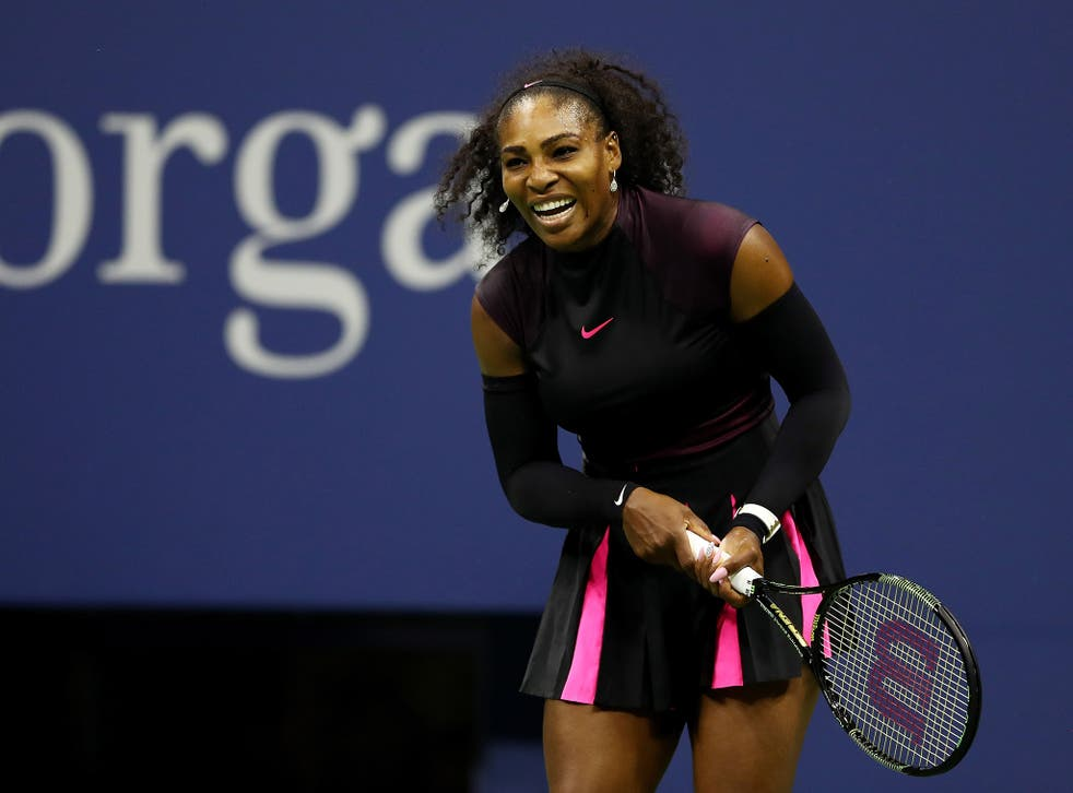 Serena Williams beat Vania King 6-3,6-3 to progress to the third round of the US Open