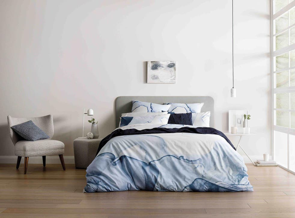Lake cave breeze quilt cover from £89, www.sheridanaustralia.co.uk