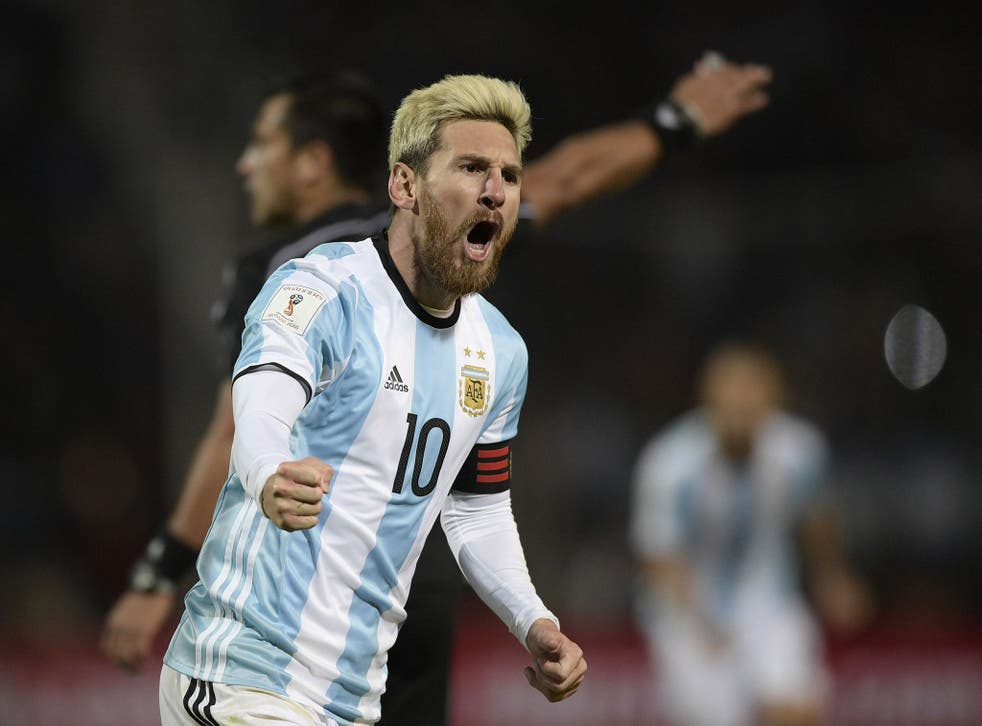 Lionel Messi returned for Argentina less than three months since retiring from international duty