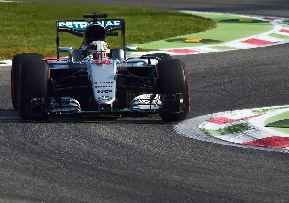 Italian Grand Prix: Lewis Hamilton on top in practice as