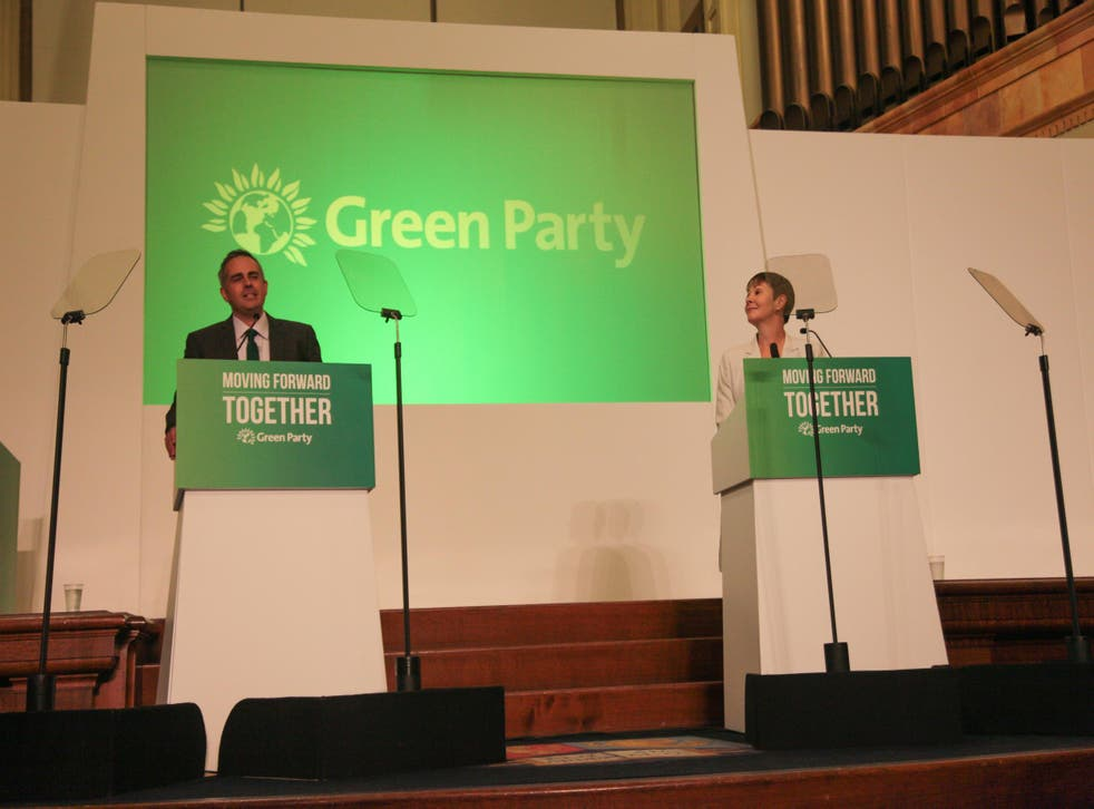 Jonathan Bartley and Caroline Lucas are the new leaders of the Green Party