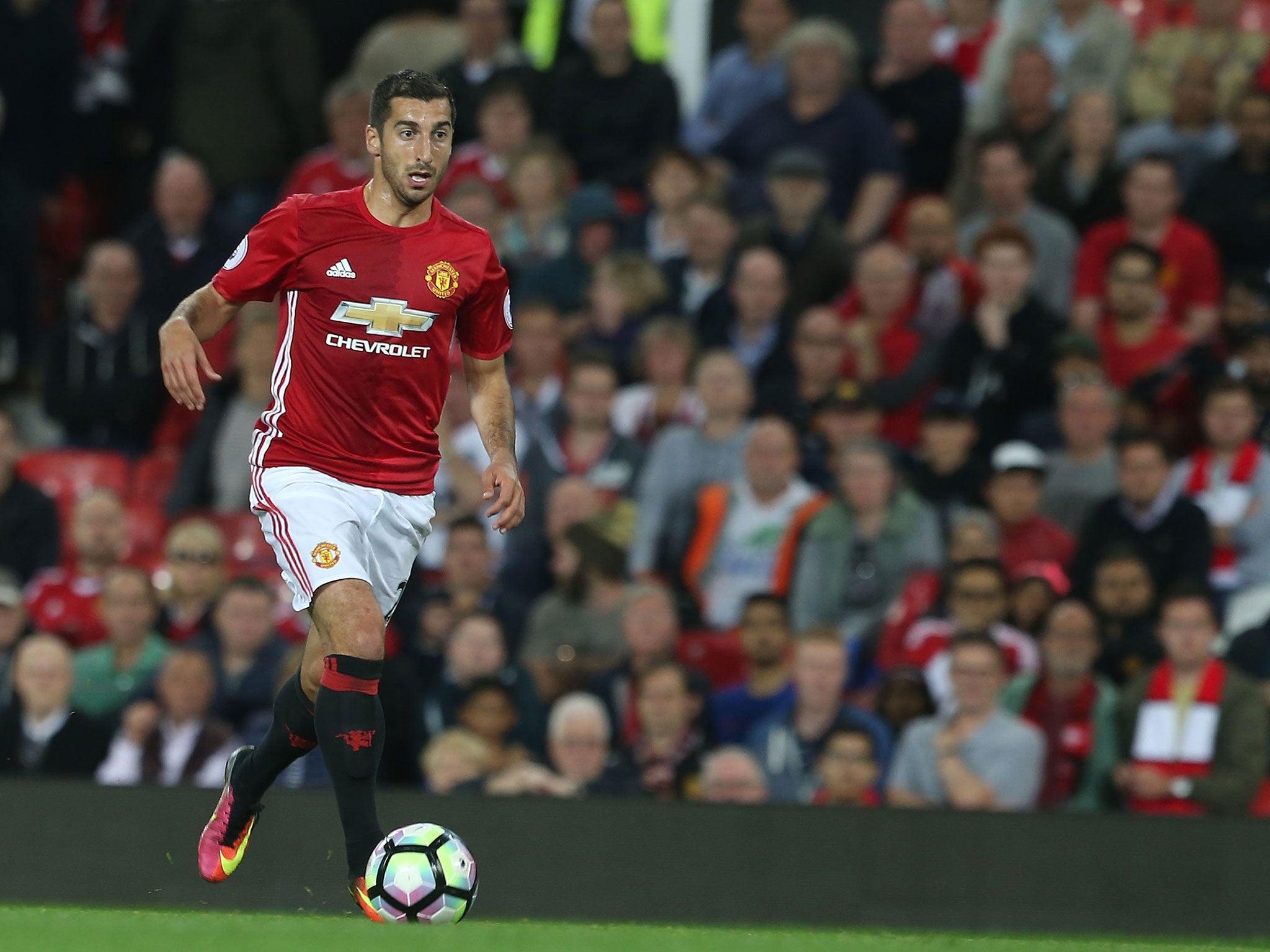 Manchester United news Henrikh Mkhitaryan expected to be ruled
