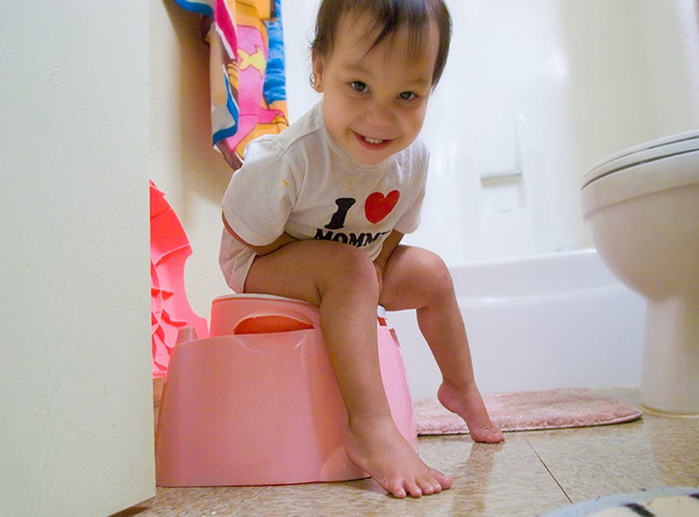 During the 1950s the average age for a child to be potty trained was between 15 and 18 months, but now it is age three-and-a-half